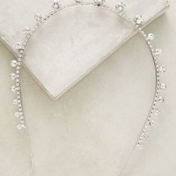 Jennifer Behr Tiara Headband in Silver Size: One Size Hair