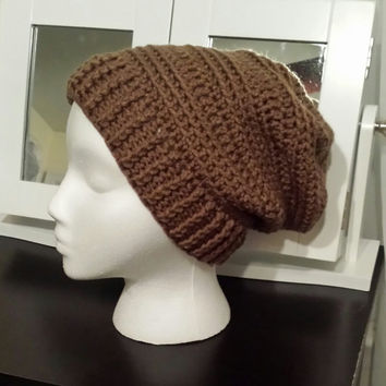 Slouchy Hat Choice of Color for adults Handmade
