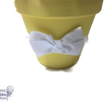 Medium Yellow Lollipop Centerpiece, Yellow, Lollipop, Wedding, Baby Shower, Candy, Centerpiece, Candy Buffet, Sweet Sixteen, Quinceanara