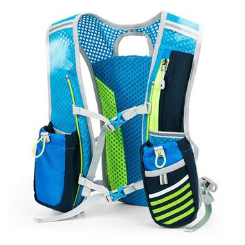 49c089e879 Backpack Trail Running Men Women Lightweight Running backpack 5L Marathon  Fitness Hydration Vest Pack Outdoor Sport