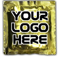 Printed Foil condoms with Full Color imprint