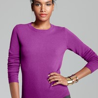 C by Bloomingdale's Cashmere Crew Neck Sweater | Bloomingdale's