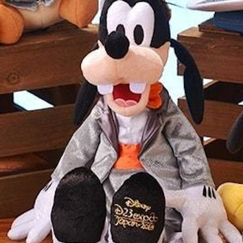Disney D23 Expo Japan 2018 Goofy Top Hat Plush New with Tag
