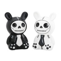 Furrybones® Bun-Bun Salt & Pepper Shakers by Summit Collection