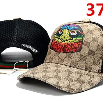 GUCCI Eagle Embroidered Hat Baseball Cap Hat