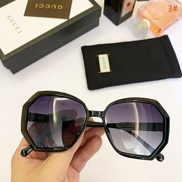 GUCCI Women Fashion New Polarized Sunscreen Travel Glasses