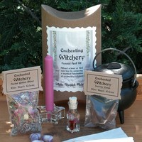 Enchanted Witchery Focused Spell Kit . Mystical Fascination, Find your Soul Mate, Attract Love