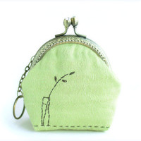 Simple Life Coin Purse (Metal Frame)