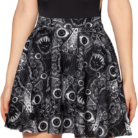 Freak Stew Skater Skirt - LIMITED | Black Milk Clothing