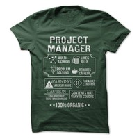 100% Organic Project Manager