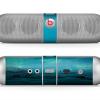 The Teal Northern Lights Skin for the Beats by Dre Pill Bluetooth Speaker