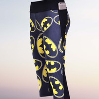 Batman leggings Capri Yoga Pants