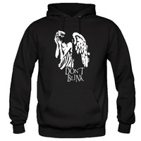 Don't Blink Hoodie Dr. Who