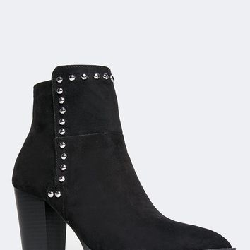 Zip Up Ankle Bootie