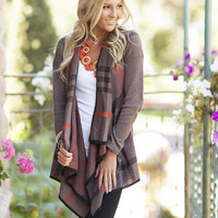 Winter Elegance Sweater Brown