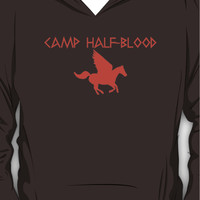 Camp Half-Blood - Orange Logo Hoodie (Pullover)