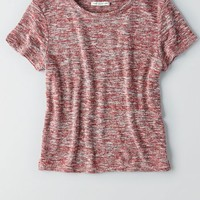 AEO Women's Textured Baby T-shirt