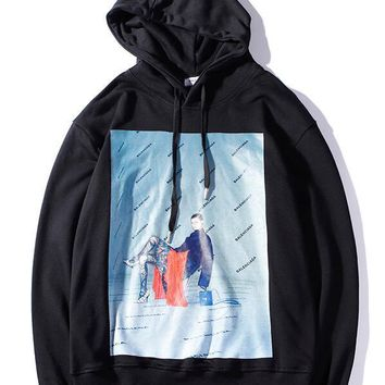 Neo Yeezus High quality Pure cotton men women hooded hoodies justin bieber I feel like pablo hoodie Free delivery
