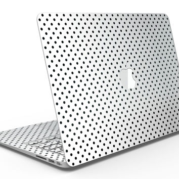 The Slate Black Micro Polka Dots - MacBook Air Skin Kit