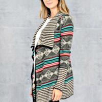 Knitted Pattern Cardigan