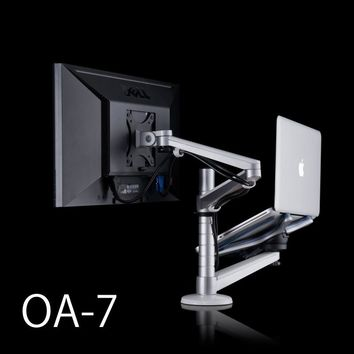 LCD MONITOR + LAPTOP HOLDER STAND