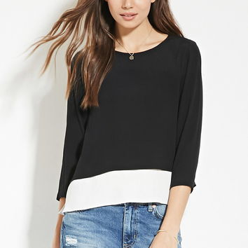 Contemporary Layered Top | Forever 21 - 2000151163