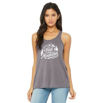 Find Your Mountain Flowy Tank Top