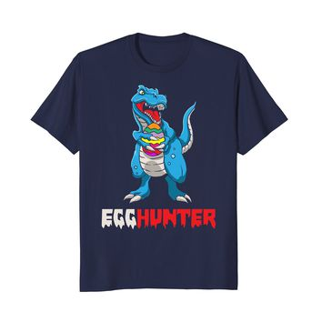 Egg Hunter Dinosaur T-Rex | Funny Happy Easter 2018 Shirt