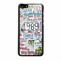 1989 taylor swift case for iphone 5c