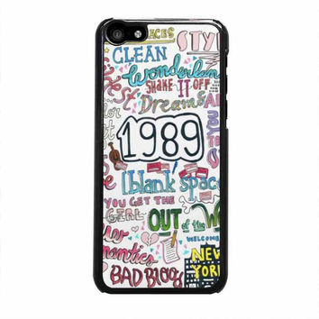 1989 taylor swift iphone 5c 4 4s 5 5s 6 6s plus cases
