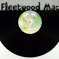 Recycled Vinyl Record FLEETWOOD MAC Wall Art