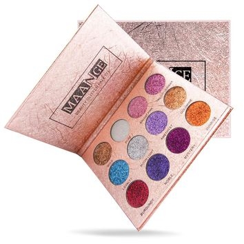 MAANGE 12 Colors Eyeshadow Palette Luxury Edition