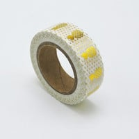 Gold Pineapple Washi Tape