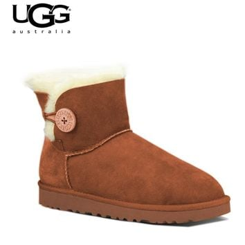 2018 Original New Arrival UGG Boots 3352 ugged women boots snow shoes Winter Boots UGG Women's Classic Cuff Short Winter Boot
