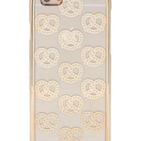 iPhone 6/6S Gold Pretzel Case