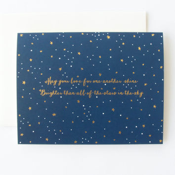 Stars in the Sky Card