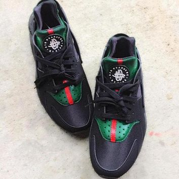 Nike Gucci Drops the Air Huarache Ultra Sports Shoes Sneakers