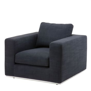 Black Lounge Chair | Eichholtz Atlanta