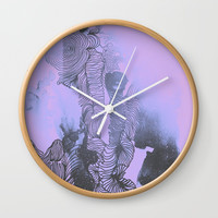 You Make Me Feel Wall Clock by DuckyB