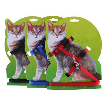 Adjustable Nylon Cat Kitten Leash