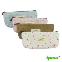 Pastorable Canvas Pen Pencil Stationery Pouch Bag Case,set of 4