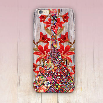 Bohemian Wood Print Phone Case  - iPhone 6 Case - iPhone 5 Case - iPhone 4 Case - Samsung S4 Case - iPhone 5C - Tough Case - Matte Case