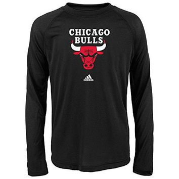NBA Boys Youth Full Primary Logo Performance Long Sleeve Tee