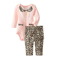 Fashion Baby Rompers Newborn Clothing Sets Spring Western Style Infant Triangle Romper 0~2 Year Wear Boy Girl Brand Baby Clothes