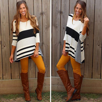 Lacee Striped Top