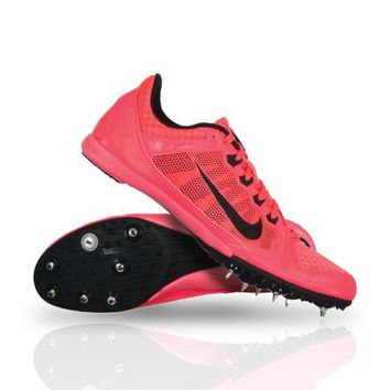Nike 616312-600 Zoom Rival MD 7 Running Track Shoes Atomic Red