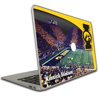 MacBook Air or MacBook Pro (13 Inch) Iowa Hawkeyes Vinyl, Removable Skin - Design #5 - Kinnick Stadium