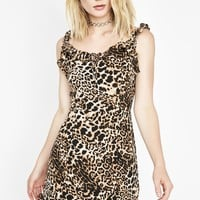 Wanna Play Leopard Dress
