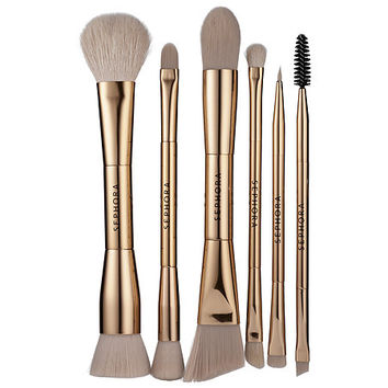 Double Time Double-ended Brush Set - SEPHORA COLLECTION | Sephora