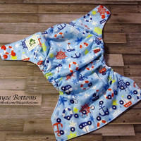 Sailing OS Pocket Cloth Diaper